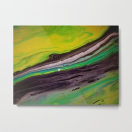 Greenpeace, acrylic on canvas Metal Print