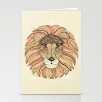 leo Stationery Cards featuring Leo by Vibeke Koehler