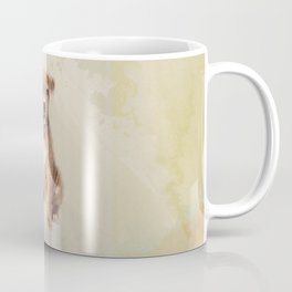American staffordshire terrier puppy Sketch Paint Coffee Mug