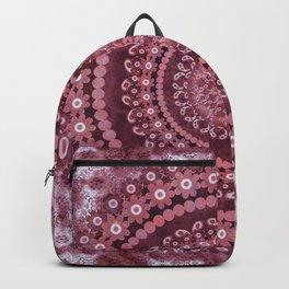 Boho Rosewood Mandala Backpack