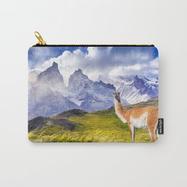 Patagonia landscape in Torres del Paine, Chile Carry-All Pouch