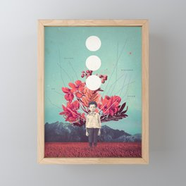 Standing at the Threshold of Tome Framed Mini Art Print
