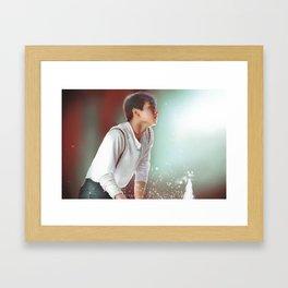 Jung Kook Framed Art Print