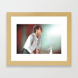 Jung Kook Framed Art Print