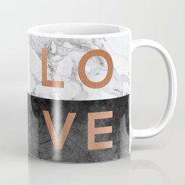 Love Copper Coffee Mug