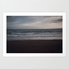 South Bay, Scarborough Art Print