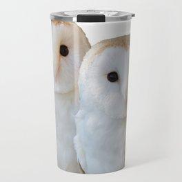 two owls friends Travel Mug