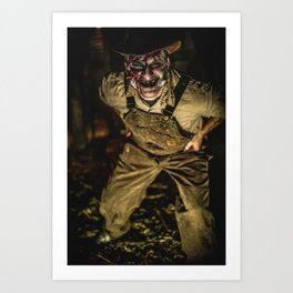 Willard - The Dark Crop Haunted Corn Maze Art Print
