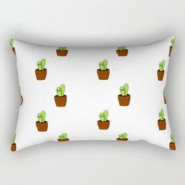 Cactus Friends Rectangular Pillow