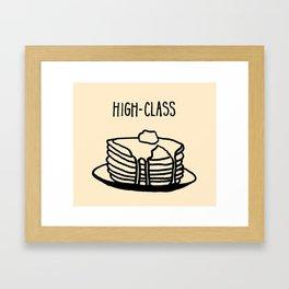 High-Class Framed Art Print