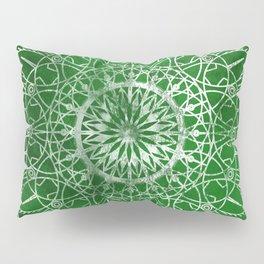 Fire Blossom - Emerald Pillow Sham