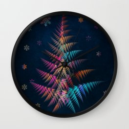 merry christmas 3 Wall Clock