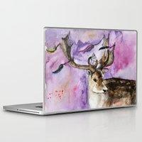 dreamcatcher Laptop & iPad Skins featuring Dreamcatcher by Anna Shell