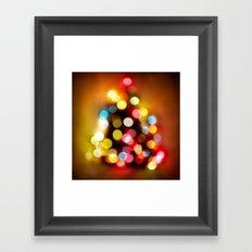 Happy Christmas! Framed Art Print