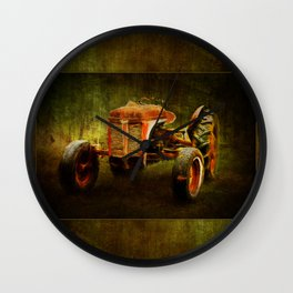 Ferguson Waiting on LaGest ~ Tractor ~ Ginkelmier Inspired Wall Clock