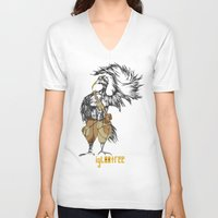pride V-neck T-shirts featuring Pride by iglootree