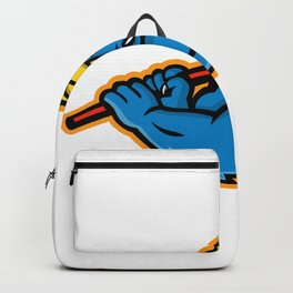 American Bully Ice Hockey Mascot Backpack