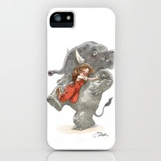 Elephant Hug Slim Case iPhone (5, 5s)