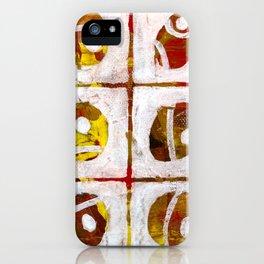 Nine ovals iPhone Case