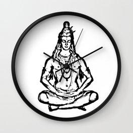 Shiva Wall Clock