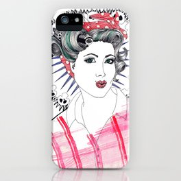Pin-up iPhone Case