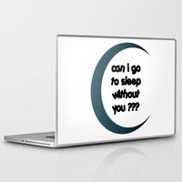 sleep Laptop & iPad Skins featuring Sleep by Cs025