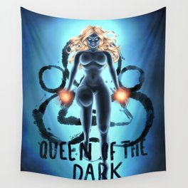 Queen of the Dark Wall Tapestry
