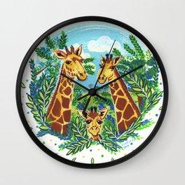 Pride and Joy Wall Clock