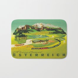 Vintage poster - Austria Bath Mat