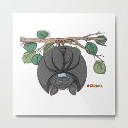 Bat wanted Metal Print