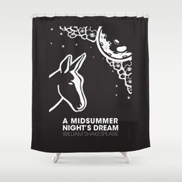 A midsummer night's dream poster Shower Curtain