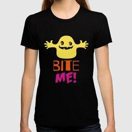 Halloween T-shirt/ Bite me T-shirt