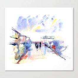 Limassol Marina. Canvas Print