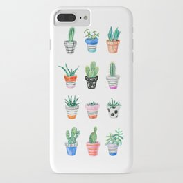 drawing cacti iPhone Case