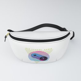 Vintage Retro 80s Video Game Gift Old School Gamer Gift Fanny Pack