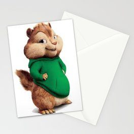 Theodore the cutes chipmunk Stationery Cards