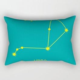 LIBRA (YELLOW-TEAL STAR SIGN) Rectangular Pillow