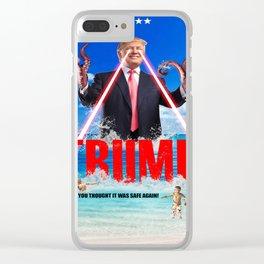 Trumptapuss Clear iPhone Case