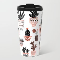 Mid-Century Modern Cacti  Travel Mug