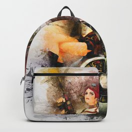 Aircraft Girl Backpack