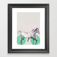 Love you Framed Art Print