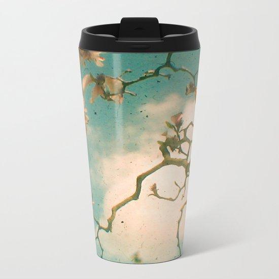 Magnolia Falls Metal Travel Mug