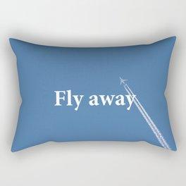 Flay away Rectangular Pillow