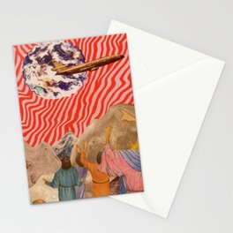 2000 LIGHT YEARS FROM HOME Stationery Cards