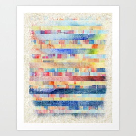 Amalgamate Art Print