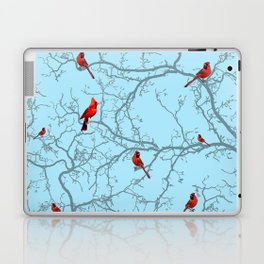 Winter Cardinals Laptop & iPad Skin