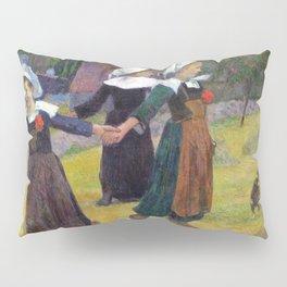 1888 - Gauguin - Breton Girls Dancing, Pont-Aven Pillow Sham