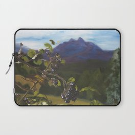Blackberries Under Sleeping Beauty Laptop Sleeve