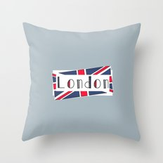 Home, Love, Illustration, Heart, london  Throw Pillow