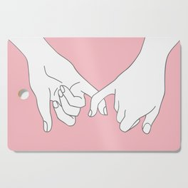 Pinky Promise 2 Cutting Board